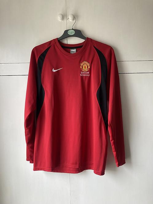 2004-06 Manchester United Soccer School Nike Jumper (Excellent) L