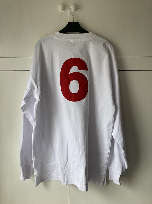 1966 ENGLAND HOME SHIRT #6 *W/TAGS* XL REPRODUCTION