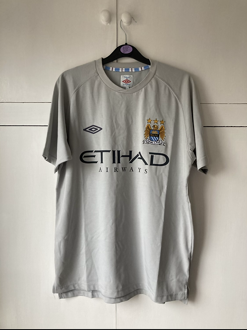 2010-11 MANCHESTER CITY UMBRO TRAINING T-SHIRT (EXCELLENT) L