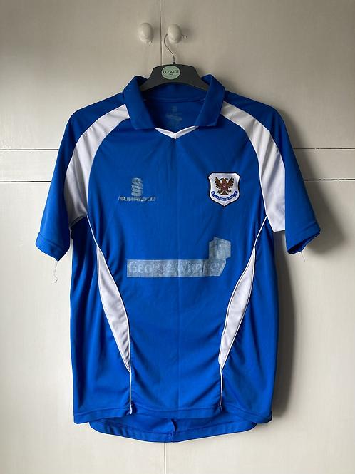 2008-09 St Johnstone Home Shirt (Fair) M