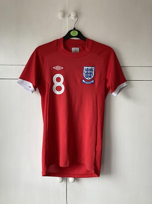 2010-11 England Away Shirt (Fair) Ladies Size 8