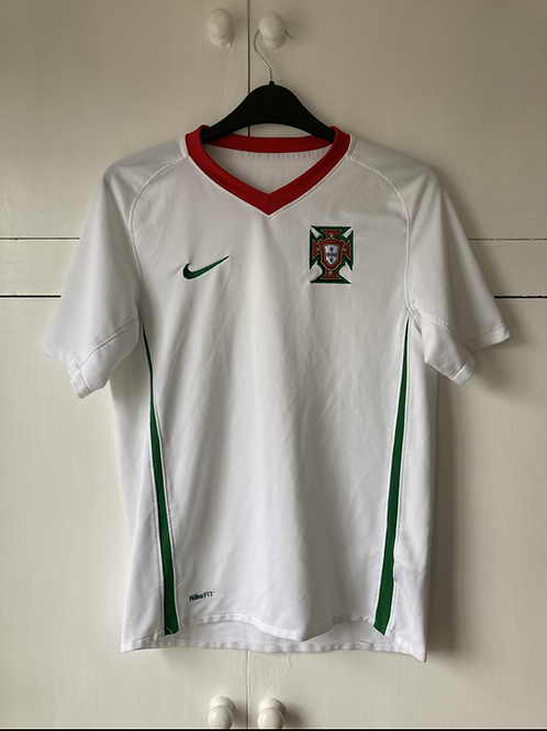 2008-10 PORTUGAL AWAY SHIRT (VERY GOOD) XS