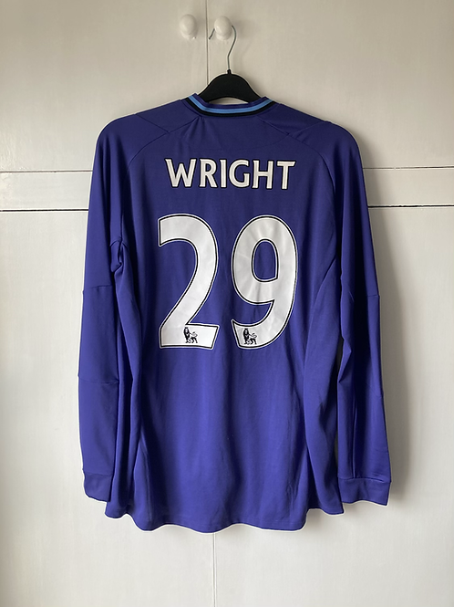 2012-13 Manchester City Richard Wright Match Worn Away GK (Excellent) L