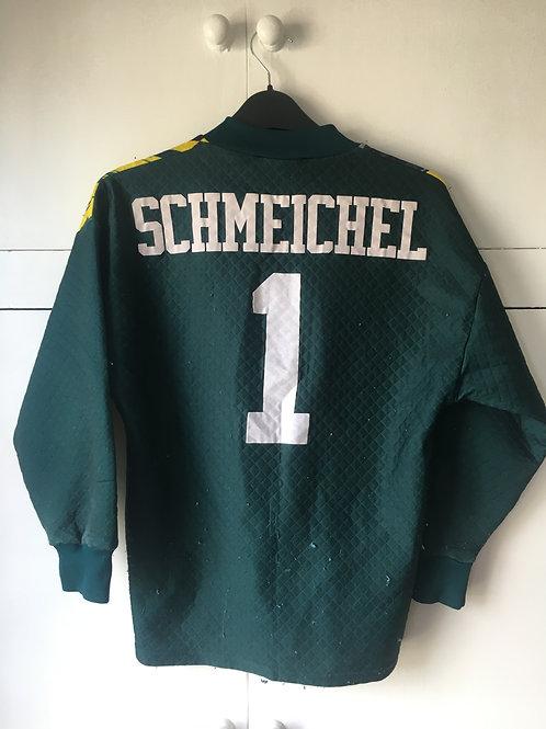 1994-97 Manchester United GK Third Shirt Schmeichel #1 (Good) L.Boys