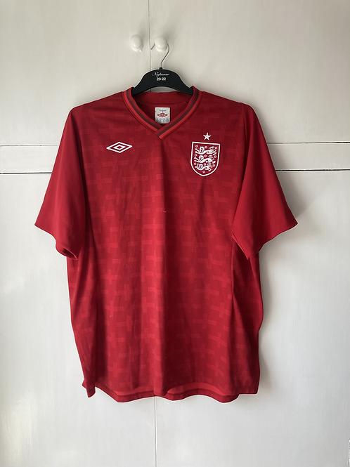 2012-13 England GK Home S/S Shirt (Excellent) XXL
