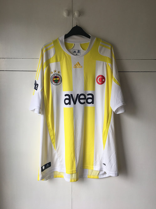 2007-08 Fenerbahce Away Shirt #12 UMUT (Excellent) XL
