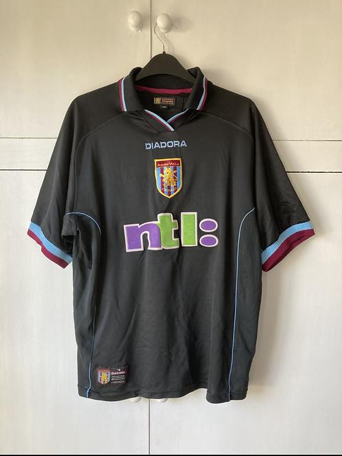 2000-01 Aston Villa Away Shirt (Excellent) M