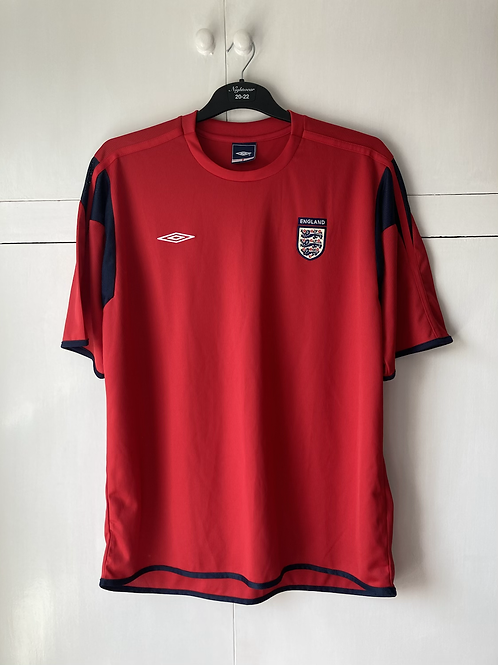 2008-09 England Umbro Training Shirt (Very Good) L