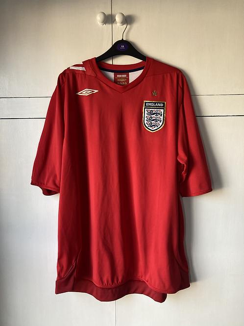 2006-08 England Away Shirt (Excellent) XXL