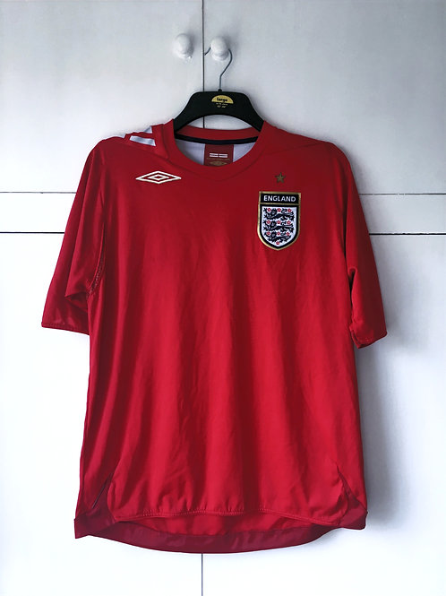 2006-08 England Away Shirt (Excellent) XL
