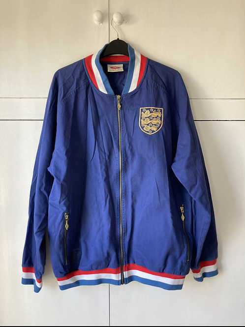 Rare 1966 England World Cup Umbro Bomber Jacket (Excellent) L *Reproduction*