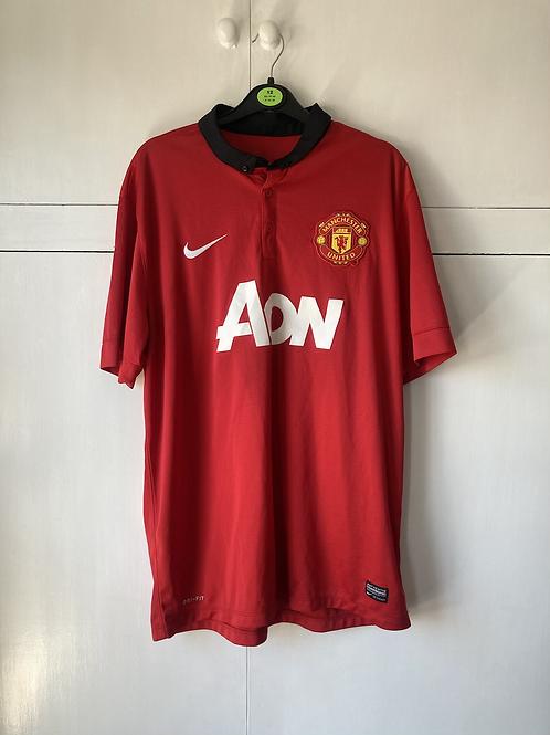 2013-14 Manchester United Home Shirt (Excellent) XL