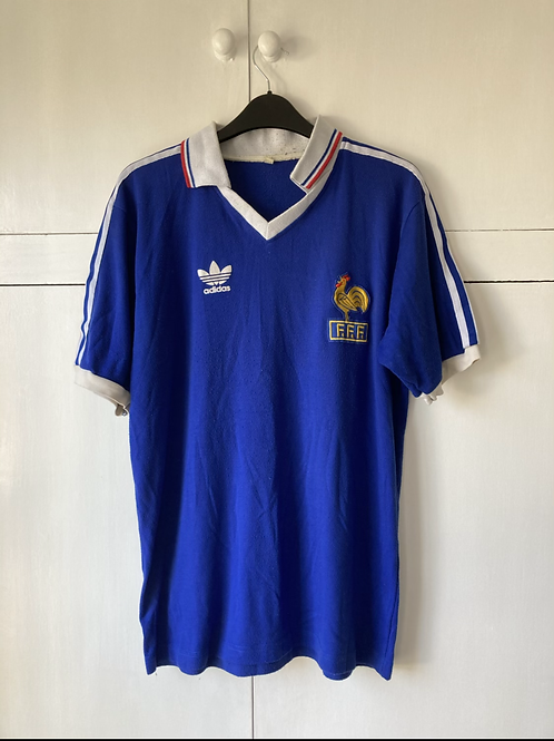 1982 France Adidas Orginals Shirt (Good) XL *Reproduction*