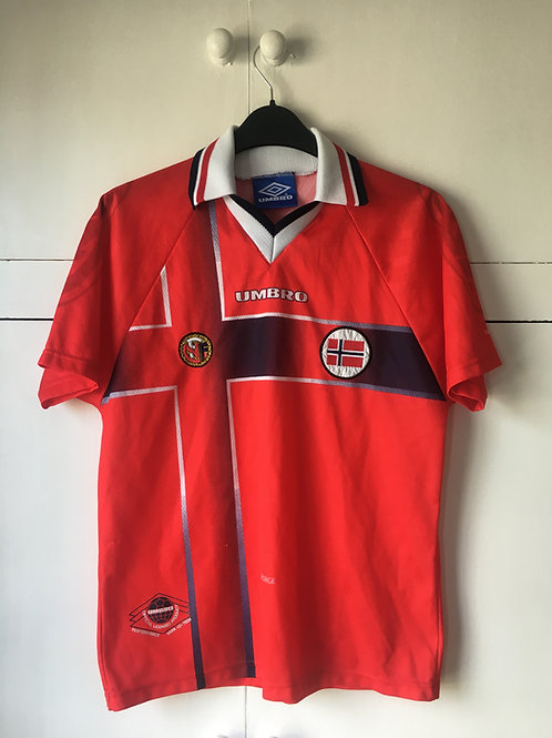 1998 Norway Home Shirt (Excellent) YXL