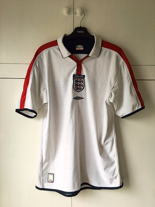 2003-05 England Home Shirt (Excellent) M