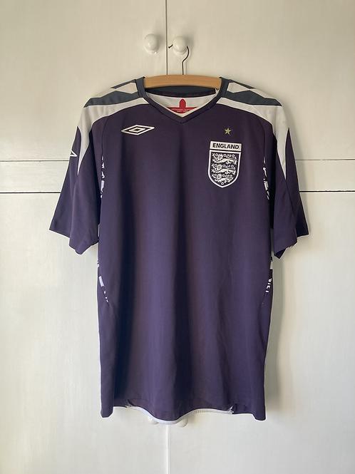 2007-09 England Goalkeeper Shirt (Excellent) M