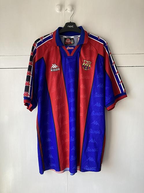 1995-97 BARCELONA HOME SHIRT (VERY GOOD) XL