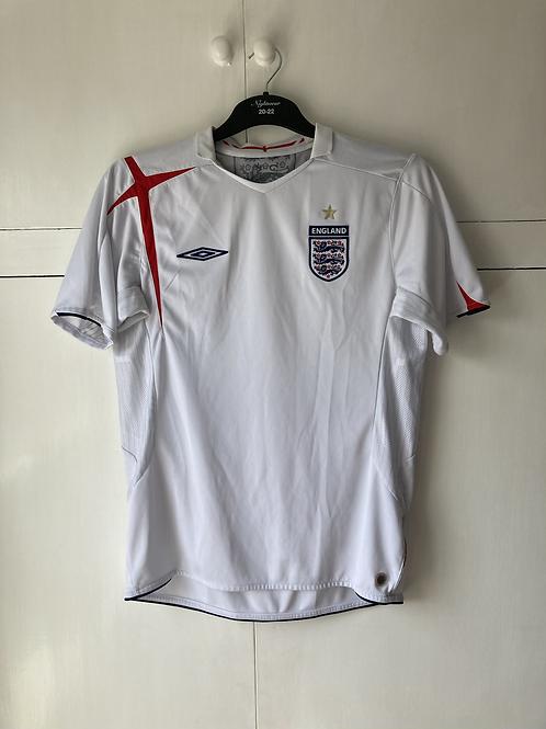 2005-07 England Home Shirt (Excellent ) M