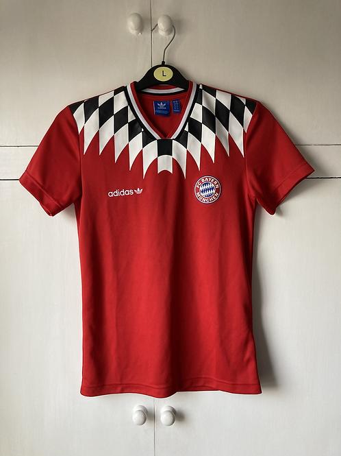 1994 Bayern Munich - adidas Originals T-Shirt Diamond red ZK (Excellent) XS
