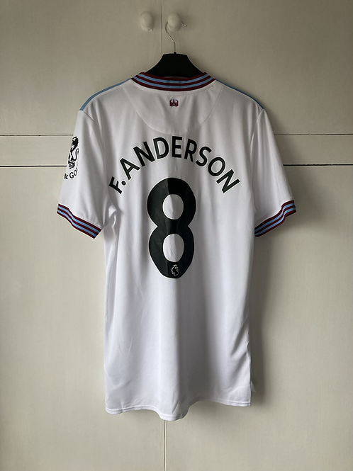 2019-20 WEST HAM AWAY SHIRT F.ANDERSON #8 *W/TAGS*