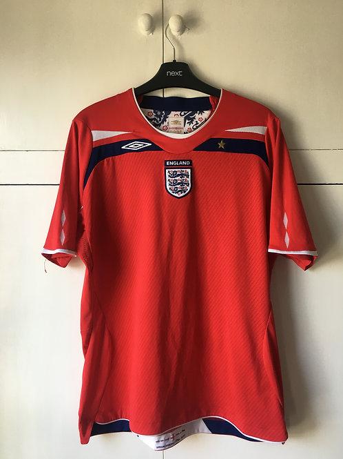2008-10 England Away Shirt (Excellent) Womens L