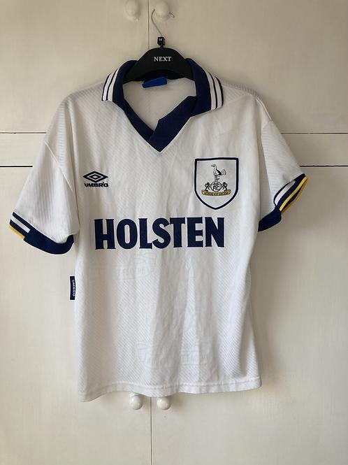 1993-95 Tottenham Home Shirt (Good) S