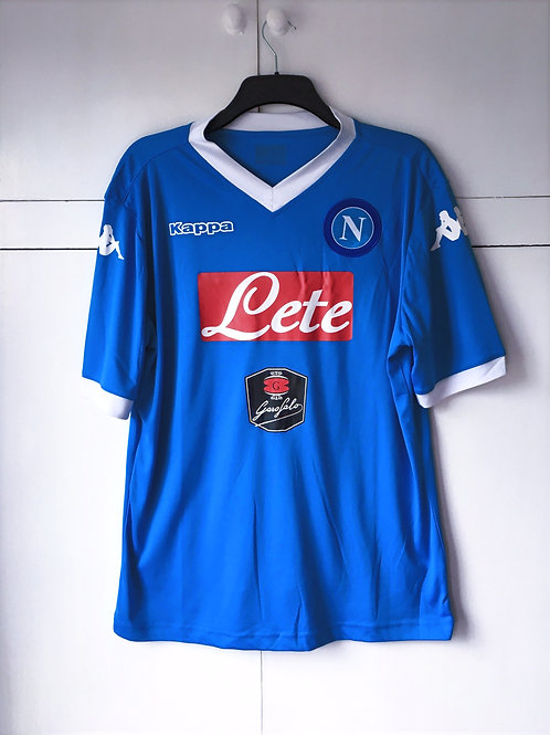 2015-16 Napoli Home Shirt (Excellent) XXL