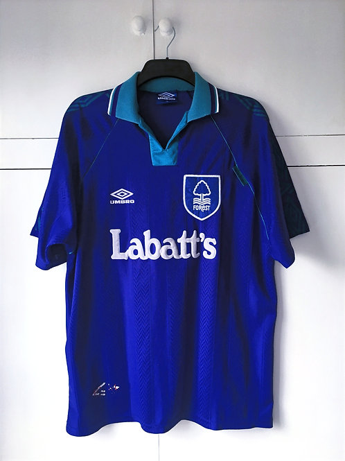 1993-95 Nottingham Forest Away (Good) XL