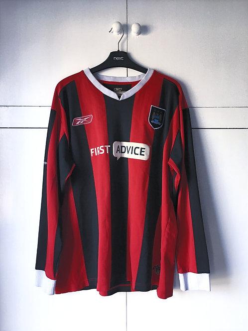 2003-04 Manchester City Away Shirt Long Sleeves (Good) XL