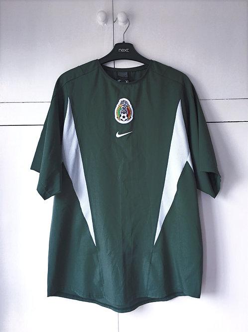 2003-04 Mexico Nike Pre-Match Training Shirt (Excellent) M