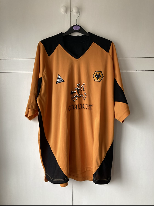 2004-06 WOLVES HOME SHIRT (EXCELLENT) XL