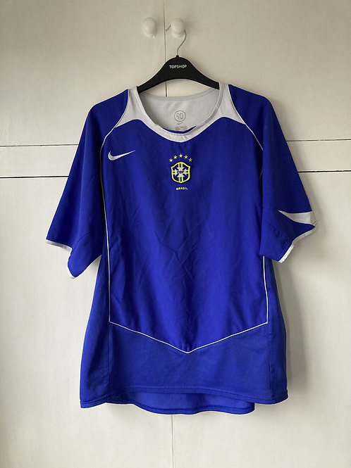 2004-06 BRAZIL AWAY SHIRT (EXCELLENT ) XL