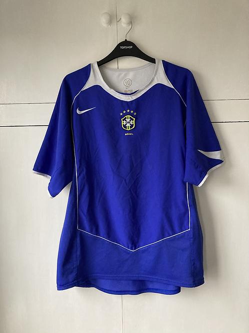 2004-06 BRAZIL AWAY SHIRT (EXCELLENT ) XL