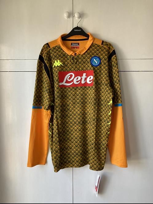 2018-19 Napoli Kombat Goalkeeper Shirt *BNWT* XXL