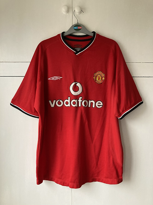 2000-02 MANCHESTER UNITED HOME SHIRT (EXCELLENT) M