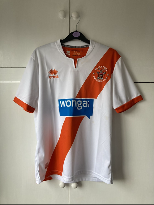 2013-15 BLACKPOOL AWAY SHIRT (EXCELLENT) S