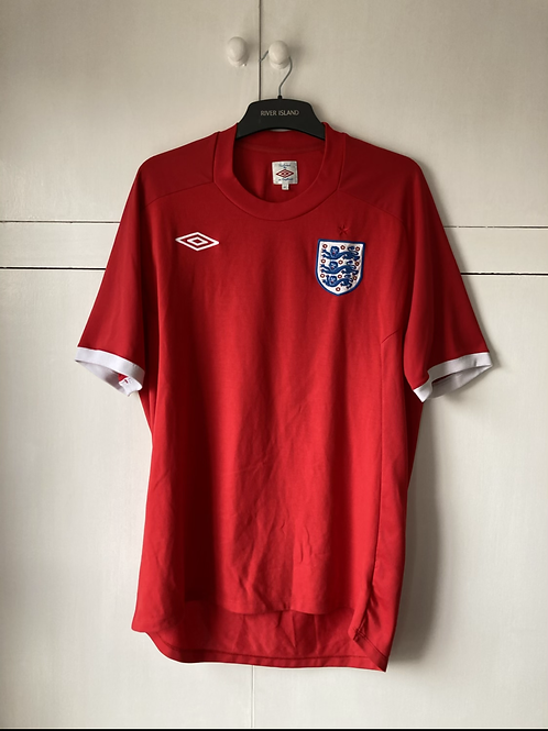 2010-11 England Away Shirt (Excellent) XL