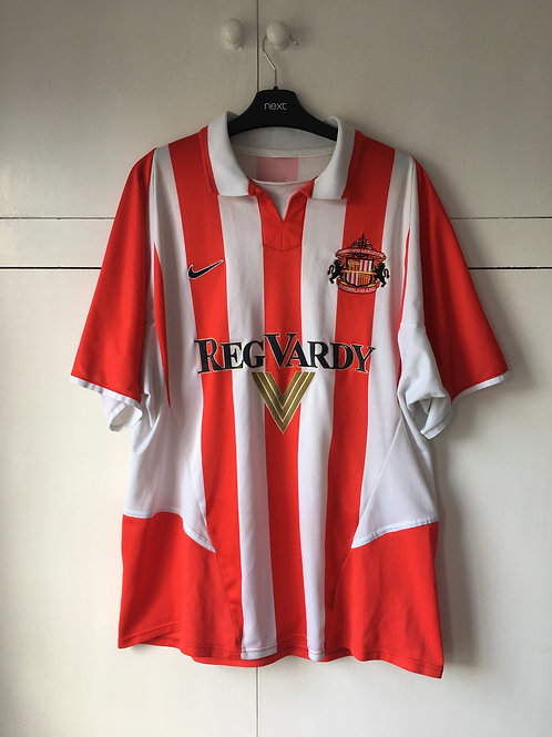 2002-03 SUNDERLAND HOME SHIRT (VERY GOOD) XL