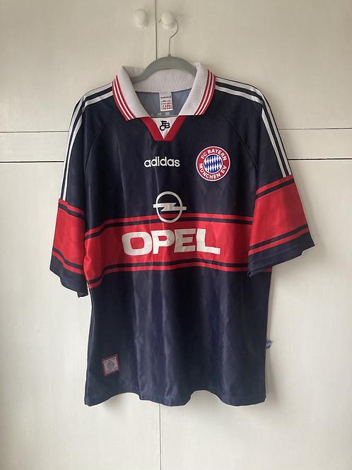 1997-99 BAYERN MUNICH HOME SHIRT (EXCELLENT) XL
