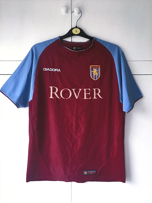 2003-04 Aston Villa Home Shirt (Good) S