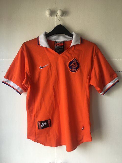 1997-98 Holland Home Shirt *STAM* (Excellent) L.Boys