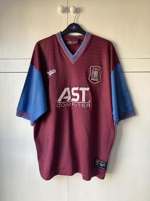 1997-98 ASTON VILLA HOME SHIRT (FAIR) XL