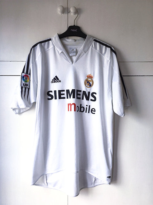 2004-05 Real Madrid Home Shirt (Excellent) L