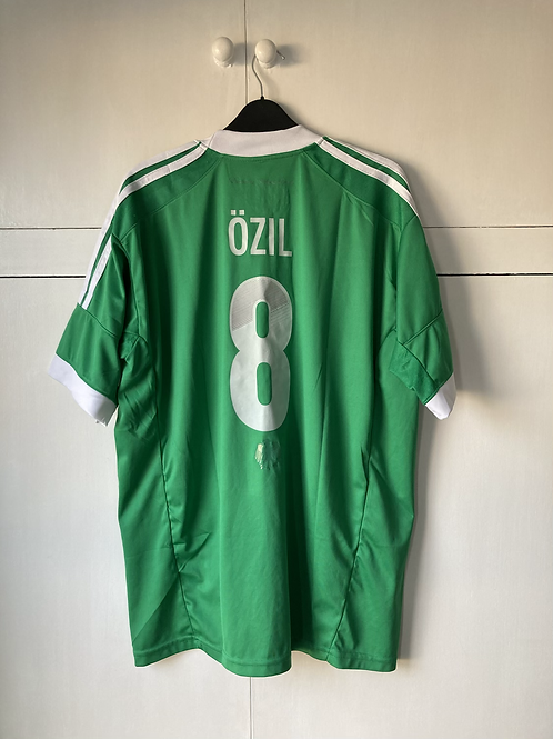 2012-13 GERMANY AWAY SHIRT OZIL #8 (EXCELLENT) XL *REPRODUCTION*