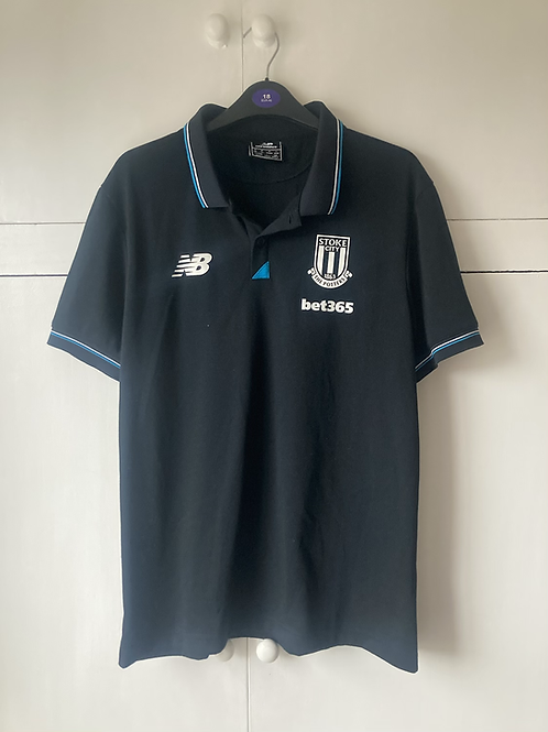 2015-16 Stoke City Polo T-Shirt (Excellent) M