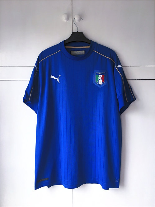 2016-17 Italy Home Shirt (Excellent) (XL)