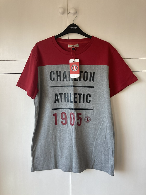 2019-20 CHARLTON ATHLETIC FAN T-SHIRT *BNWT* L