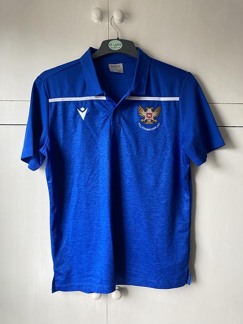 2020-21 St Johnstone Polo T-Shirt (Excellent) L