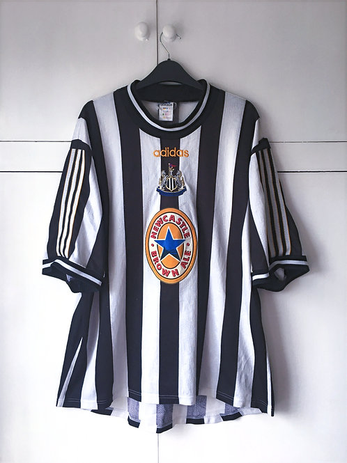 1997-99 Newcastle Home Shirt (Fair) XL
