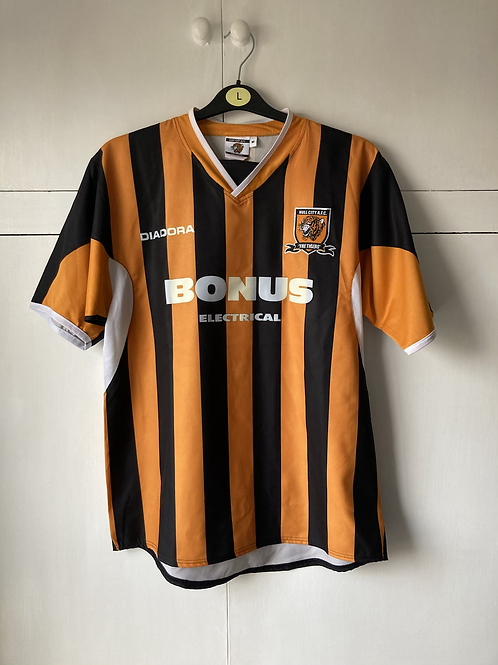 2005-06 HULL CITY HOME SHIRT (EXCELLENT) M